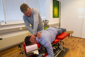 Naprapat Behandling massagebänk - Nacke